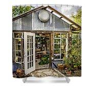 Garden Shed Shower Curtain