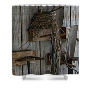 Garden Shed Visitor Shower Curtain