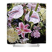 Garden Song Shower Curtain