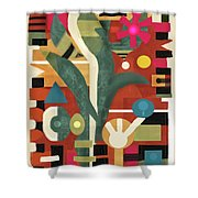 Garden Surprise Shower Curtain