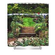 Garden Trellis Shower Curtain