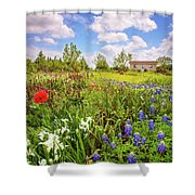 Gardener's Delight Shower Curtain