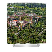 Gardens By The Bay Shower Curtain