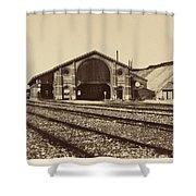 Gare De Longueau Shower Curtain