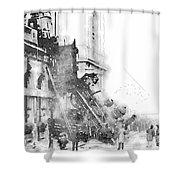Gare Montparnasse 1895 Shower Curtain