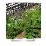 Garfield Park Conservatory Path Chicago Shower Curtain