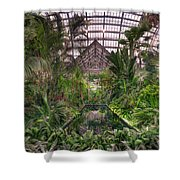 Garfield Park Conservatory Reflecting Pool Shower Curtain