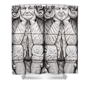 Gargoyles Of Lund Shower Curtain