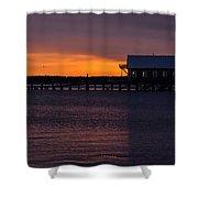Garibaldi, Oregon Coast Shower Curtain