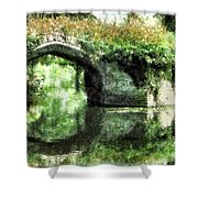 Garlanded Arch Shower Curtain