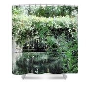 Garlands And Arches Shower Curtain