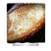 Garlic Bread Shower Curtain