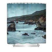 Garrapata Beach, Big Sur, California Shower Curtain