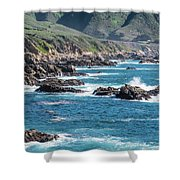 Garrapata State Park 2 Shower Curtain