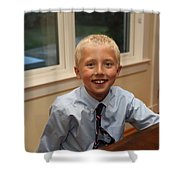 Garrett-369 Shower Curtain