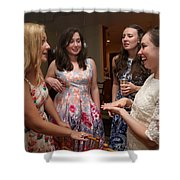 Garrett-373 Shower Curtain