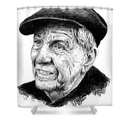 Garry Marshall Shower Curtain
