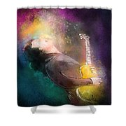 Gary Moore 01 Shower Curtain