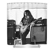 Gary Rossington Saturday Night Special Shower Curtain
