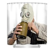 Gas Gasp Shower Curtain by Jorgo Photography - Wall Art Gallery