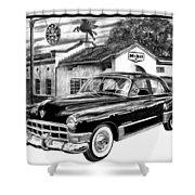 Gas Hog 41 Shower Curtain