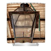 Gas Lamp French Quarter Shower Curtain
