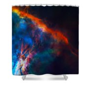 Gas Plume Orion Nebula 2 Shower Curtain