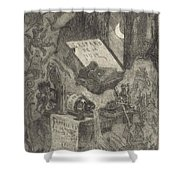 Gaspard De La Nuit Shower Curtain