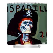 Gasparilla 2011 Work Number Two Shower Curtain