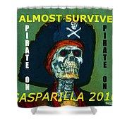 Gasparilla 2016 T Shirt Shower Curtain