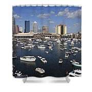 Gasparilla Armada Shower Curtain