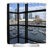 Gasparilla Invasion Shower Curtain