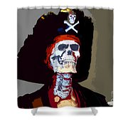 Gasparilla Work Number 5 Shower Curtain by David Lee Thompson