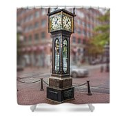 Gastown Steam Clock Shower Curtain