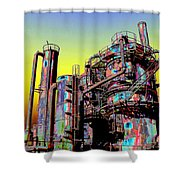 Gasworks Park 1 Shower Curtain