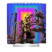 Gasworks Park 2 Shower Curtain