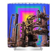Gasworks Park 3 Shower Curtain