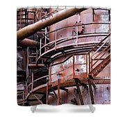 Gasworks Park Shower Curtain