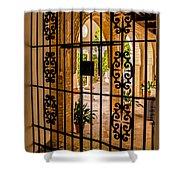Gate - Alcazar Of Seville - Seville Spain Shower Curtain