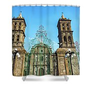 Gate And Cathedral Shower Curtain