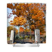 Gate And Driveway Shower Curtain