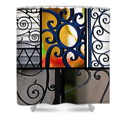 Gate Designs Shower Curtain