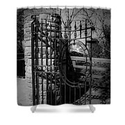 Gate In Macroom Ireland Shower Curtain