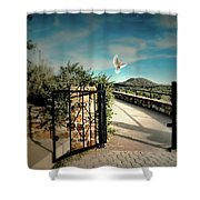 Gate To The Martyrs Shower Curtain