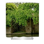 Gate To Cam Waters. Shower Curtain