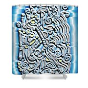 Gate To The Future Shower Curtain