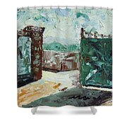 Gate2 Shower Curtain