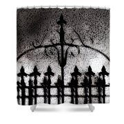Gated Shower Curtain
