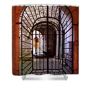 Gated Passage Shower Curtain