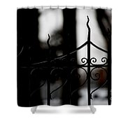 Gated Woods Shower Curtain